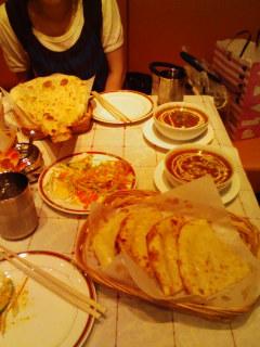 *インド料理だぁ*