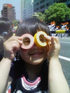 パレードまで。